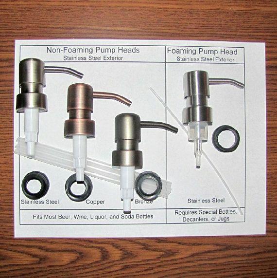 Soap Dispenser Pump Replacement Soap Pumps Wine Bottle Soap Pump