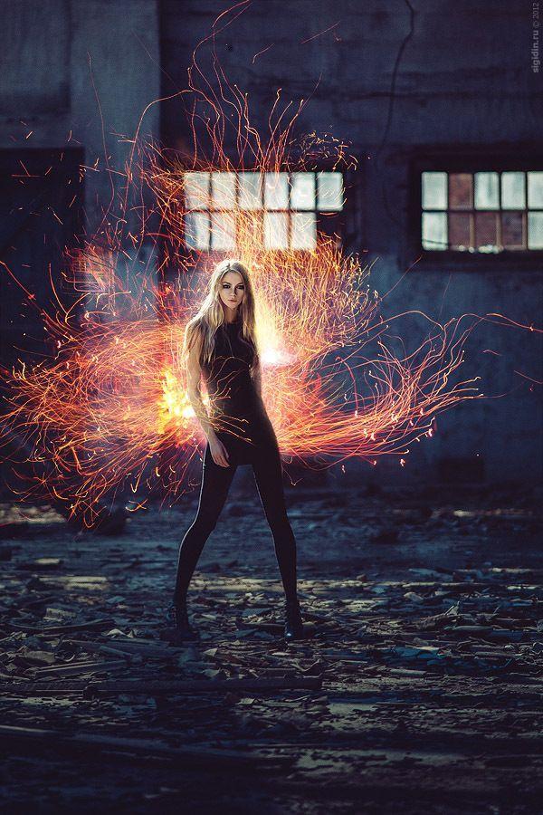 Blue Explosion Bomb Magic or Super Power Gif Magic