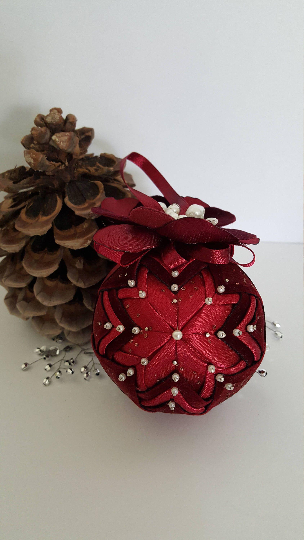 Christmas ornament/ Christmas fabric tree decoration/ Christmas ...