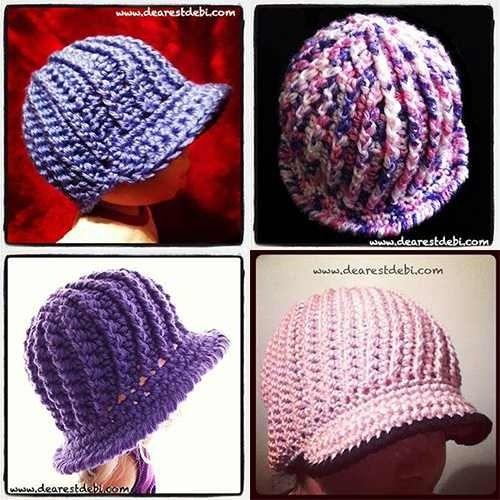 Pin von Brenda Cooper auf hats crochet | Pinterest | Gehäkelte ...