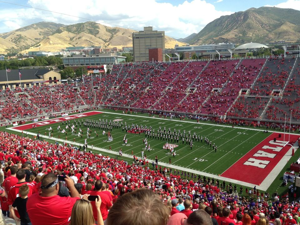 RiceEccles Stadium University of utah, Utah utes