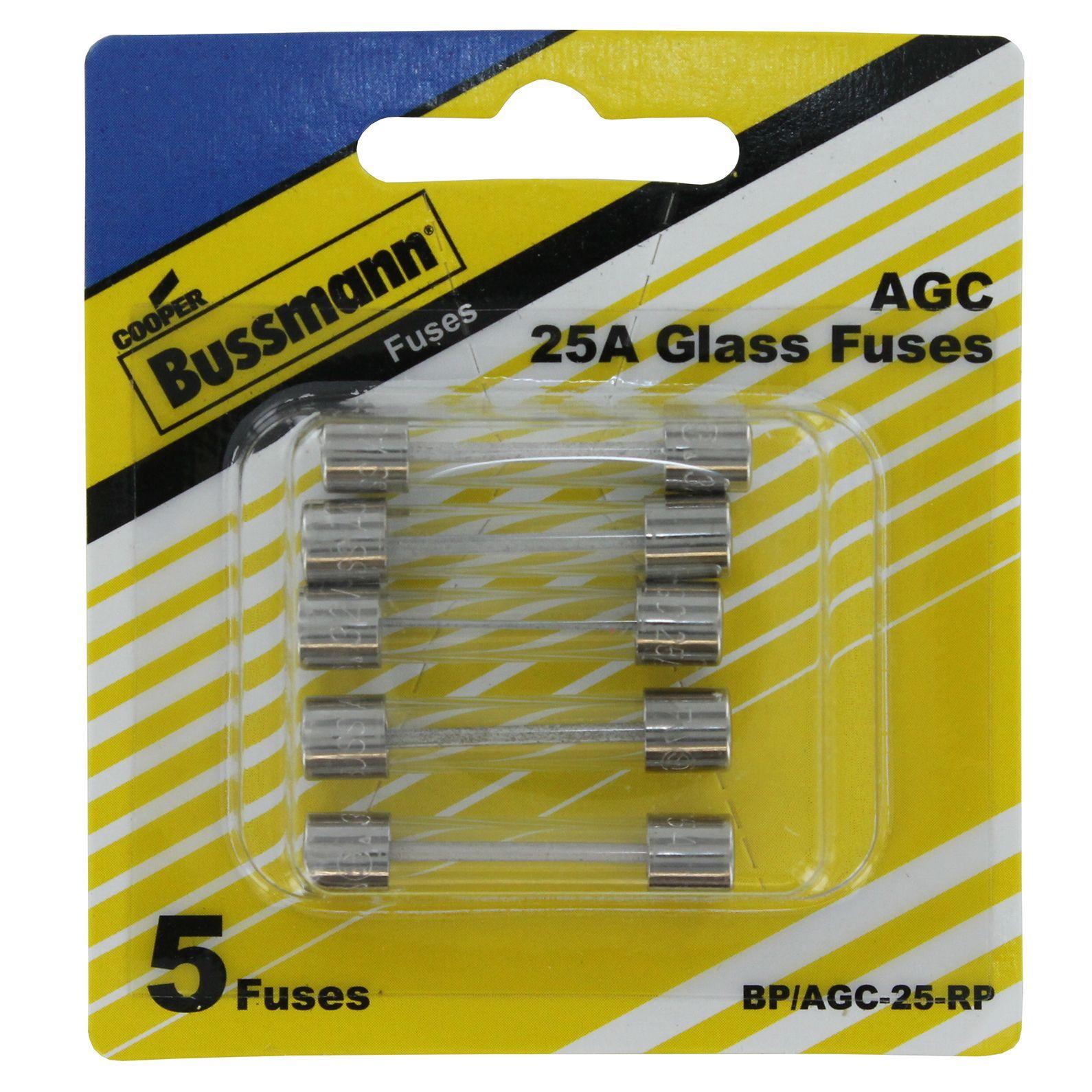 Bussmann BP//AGC-20 20 Amp Fast Acting Glass Tube Fuse