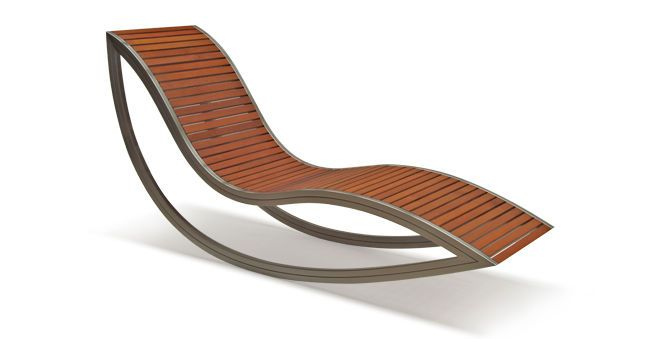 Chaise Longue Contemporaine X2f En Inox X2f En Bois X2f D 39 Exterieur Dondola David Trubridge Design Videos Chaise Longue Chaise Inox