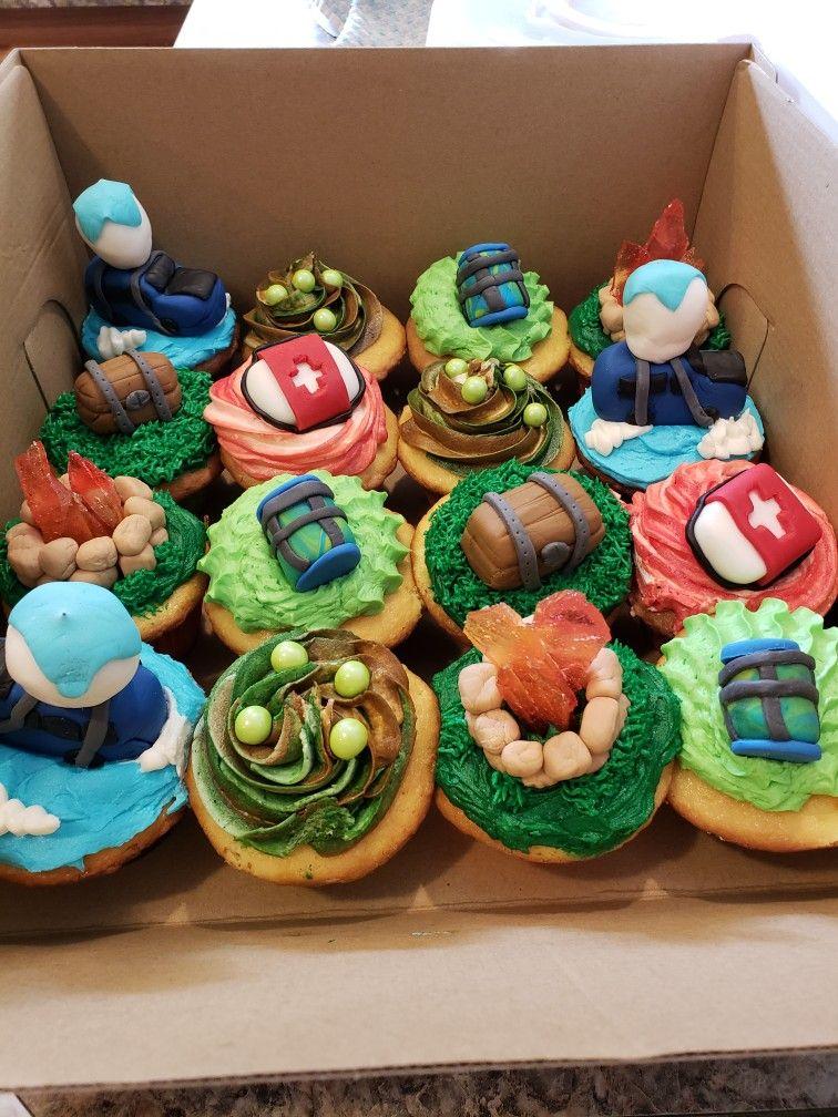 Fortnite Cupcakes Fortnite In 2019 Cupcakes For Boys