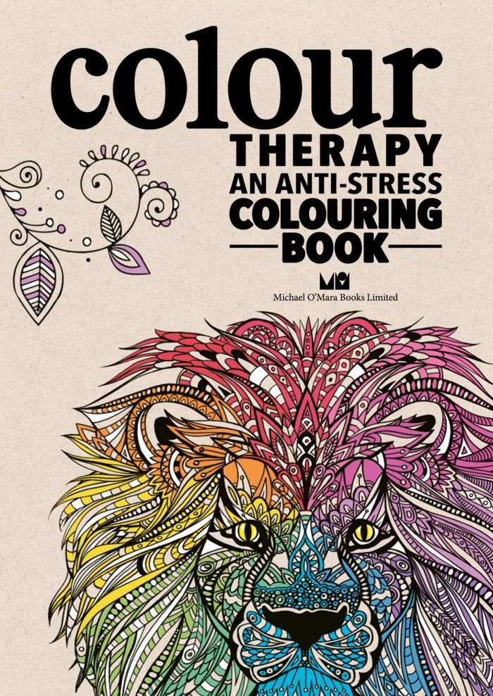 Colour Therapy: An Anti-Stress Colouring Book - Gallery Anti Stress  Coloring Book, Stress Coloring Book, Stress Coloring