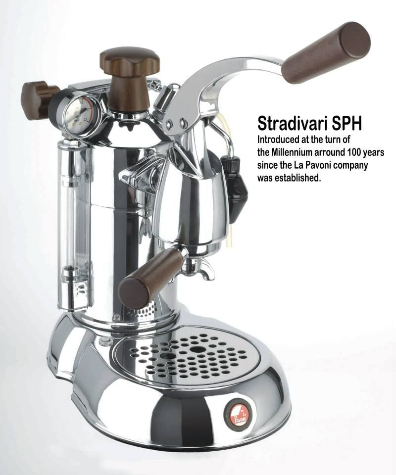 la pavoni stradivari with rosewood handles also available. Black Bedroom Furniture Sets. Home Design Ideas