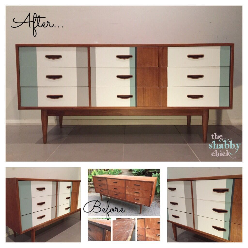 58 Beautiful Vintage Painted Mid Century Furniture Ideas Mid  # Rewind Muebles Vintage