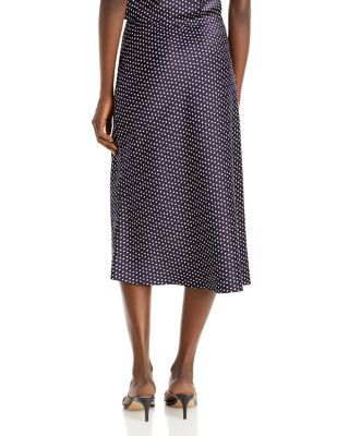 Aqua Bias Cut Slip Skirt - 100% Exclusive