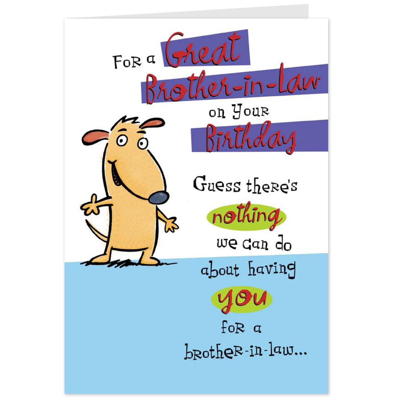 funny birthday quotes for brother Brother birthday