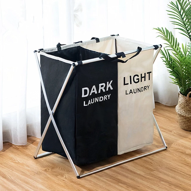 Foldable Laundry Hamper Basket Organizer In 2020 Laundry Hamper