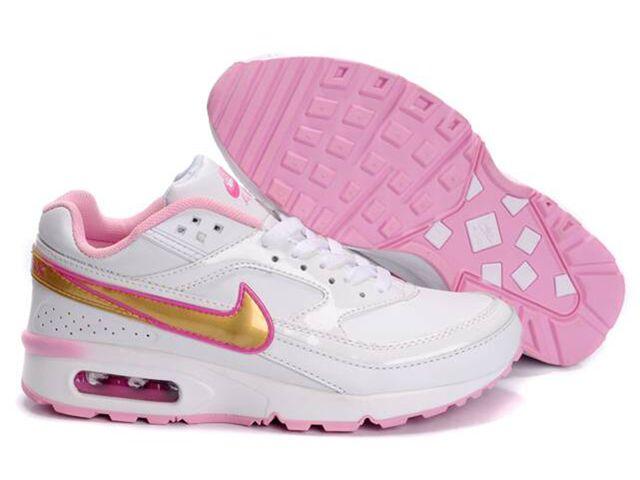 Chaussures Nike Air Classic BW Or/ Blanc/ Rose [nike_10496] - €50.88 ·  Fitness ShoesNike BlazersWomen ...