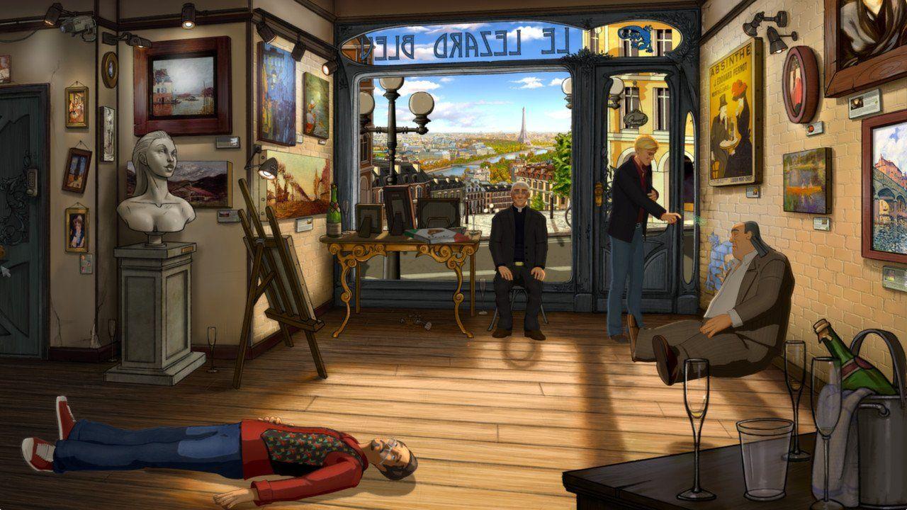 New Games BROKEN SWORD 5 THE SERPENT'S CURSE (PS4, PC