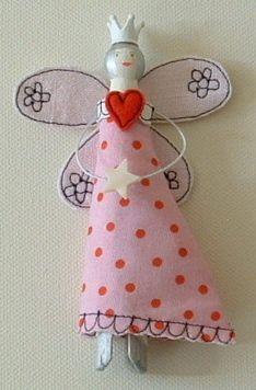 Peg Doll-Pink £7.00