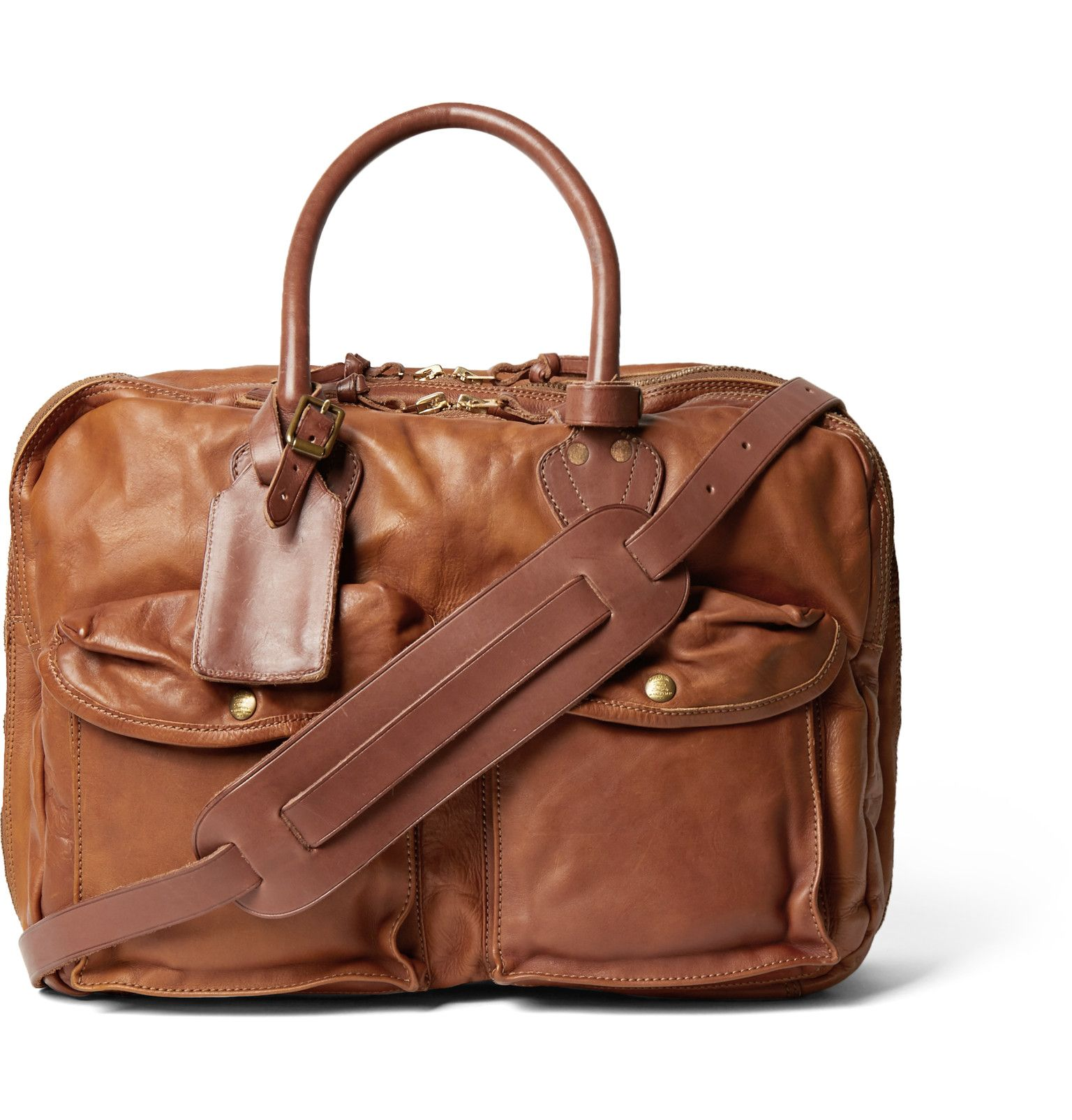 29f6deddfd RRL Cargo Leather Holdall | WORK Supply Co. | Bags, Leather, Mr porter