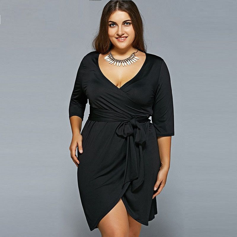Plus Size Big Size Women Casual Bandage Dress L 6xl Mommas Picks