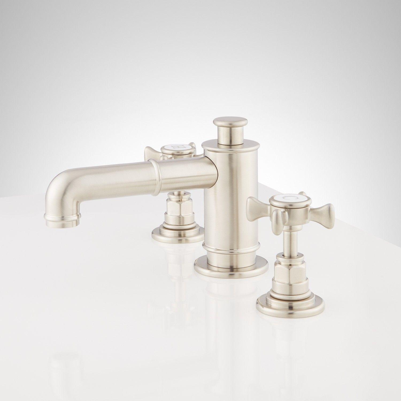 Waterson Widespread Bathroom Faucet With Cross Handles Bathroom