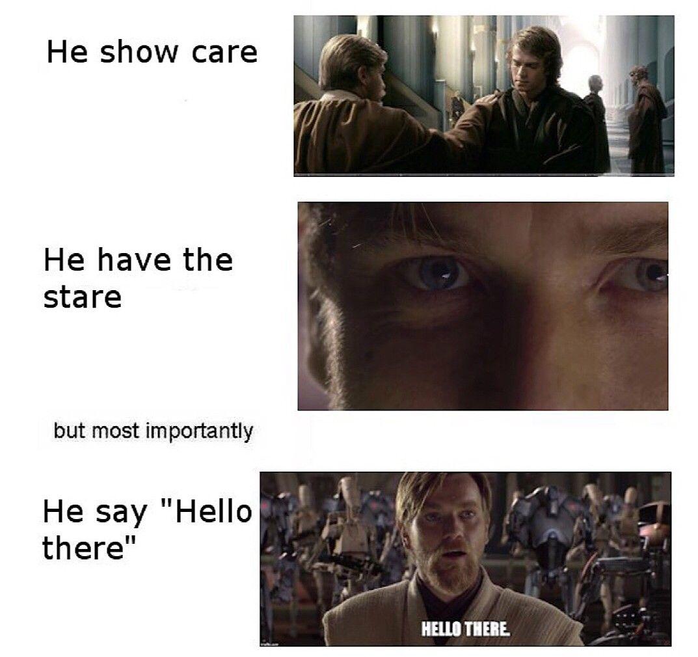 General Kenobi You Are A Bold One Star Wars Humor Star Wars Memes Star Wars Jokes