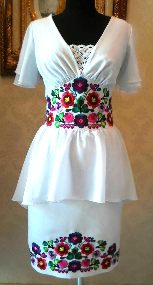 a53891bb6 Сукня з петриківською вишивкою LA-192 | Вишиті сукні | Vestidos ...