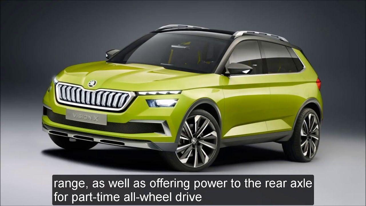 Review 2019 Skoda Vision X Concept Interior Exterior Lastest News