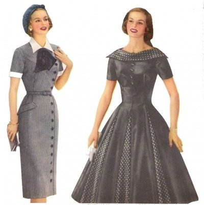 Dresses from the 1950 s style