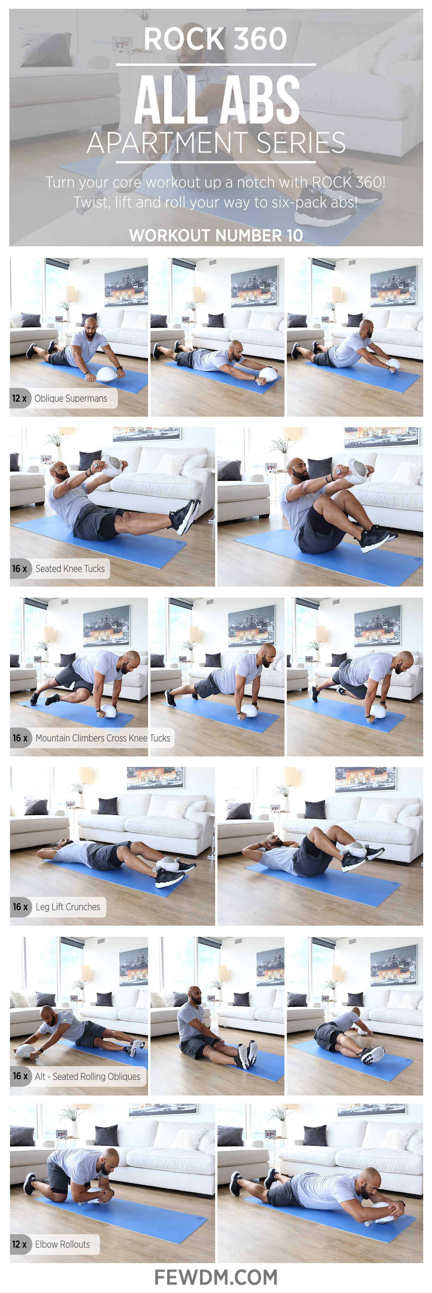 Target The Entire Core With Rock 360 Rolling And Strength