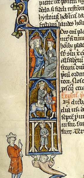 Bible, MS M.969 fol. 224v - Images from Medieval and Renaissance Manuscripts - The Morgan Library & Museum