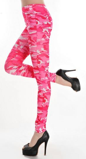 d701f930d13bb Pink Camouflage Leggings in 2019 | Camo Chick | Camouflage leggings ...