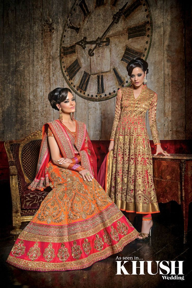 Fusion asian wedding dresses