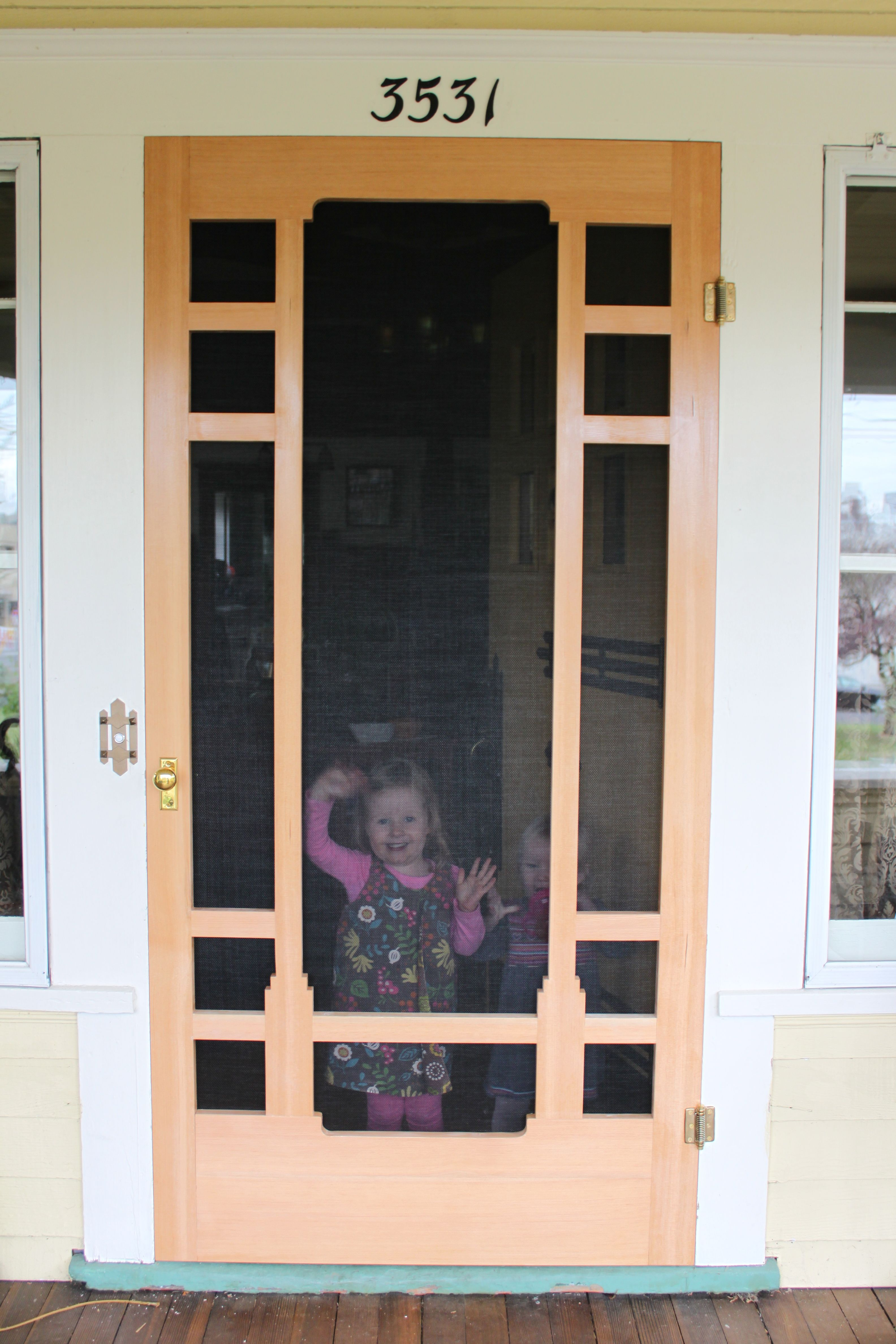 Attirant Build Screen Door Plans Diy DIY PDF Step Stool Woodworking Plans .