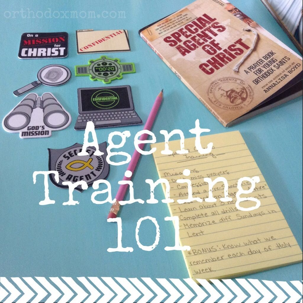 Special Agents Of Christ Spring Training Lenten Activity