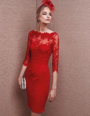 d37f0711a3d vestidos cortos para ir a una boda por la noche