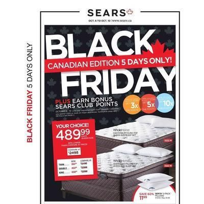 Sears Canada Black Friday 2016 Ad Page 1 Black Friday Coffee Art Black Friday Ads