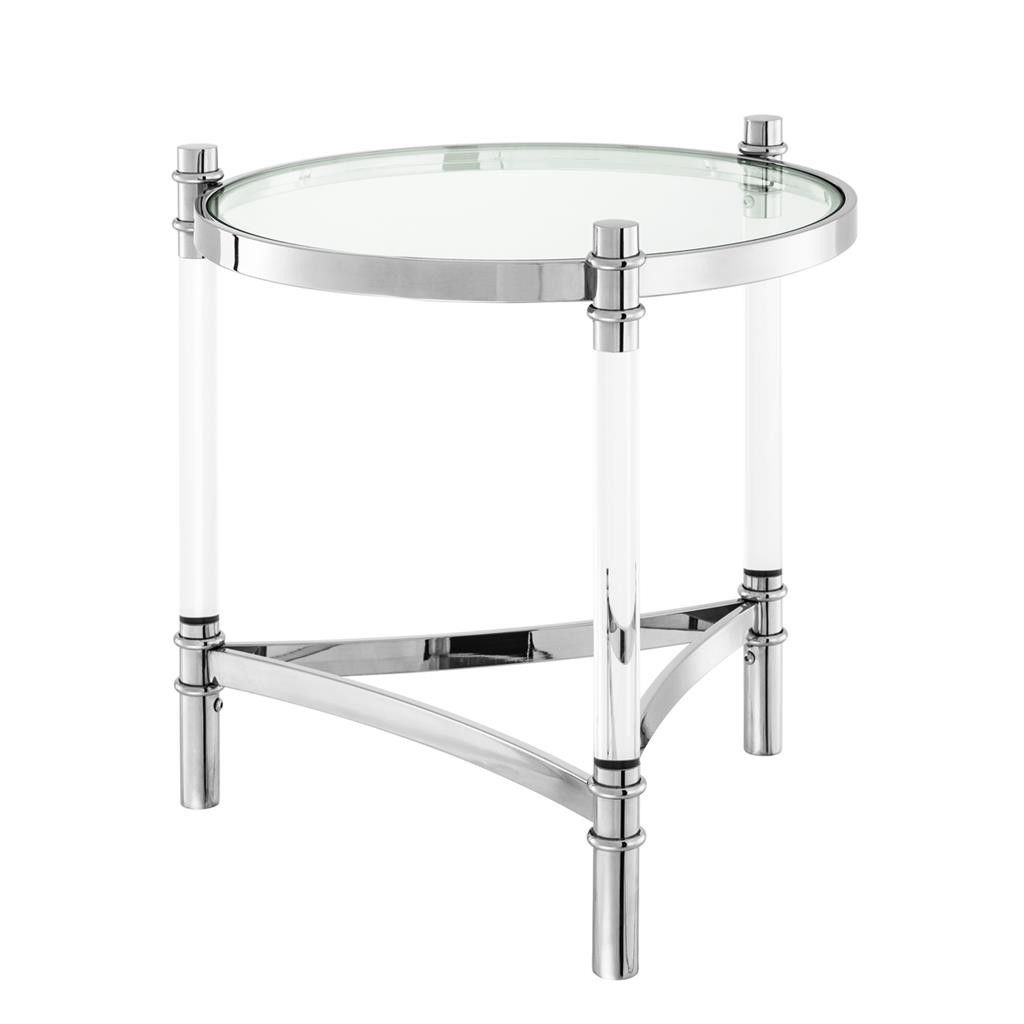 Glass Side Table Eichholtz Trento Glass Side Tables Glass