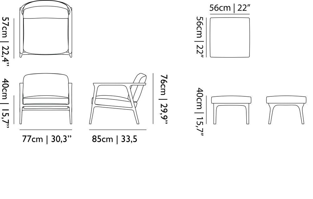 lounger sofa dimensions  baci living room