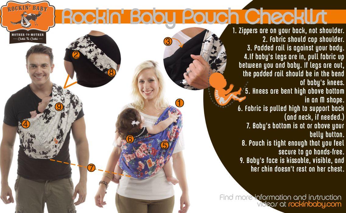 895e8d9593a Rockin  Baby Pouch Checklist