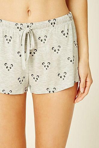 Ensemble de pyjama avec un imprimé de pandas