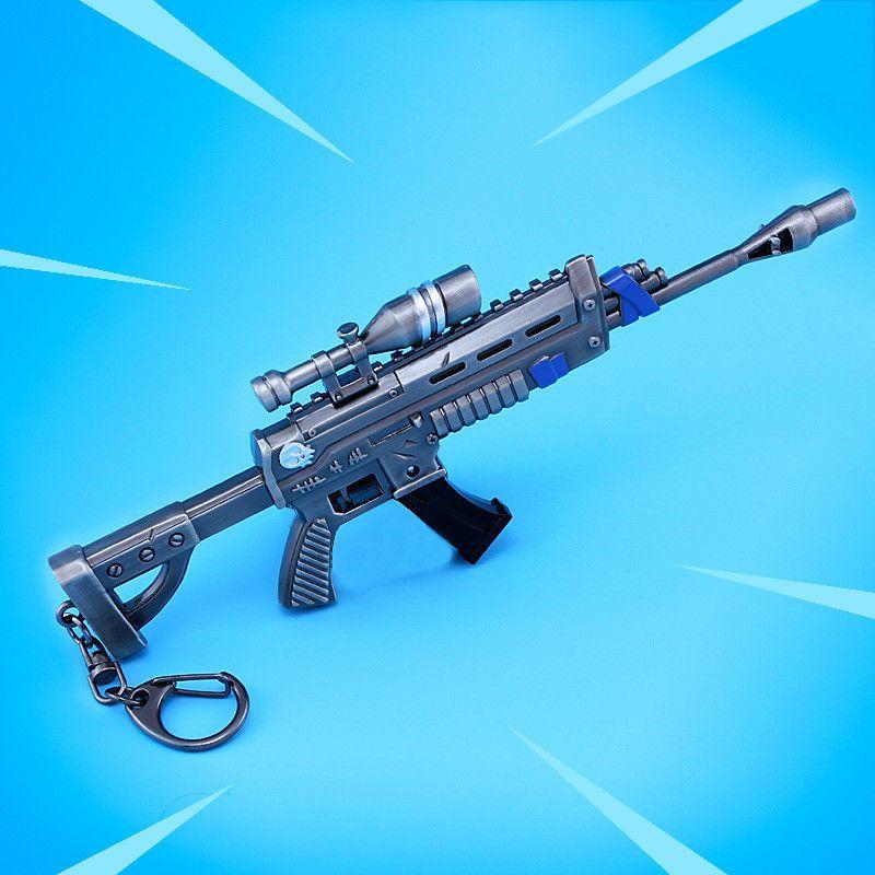 Fortnite Battleroyale Gun Rifle Action Figure Key Holder Kids Toy