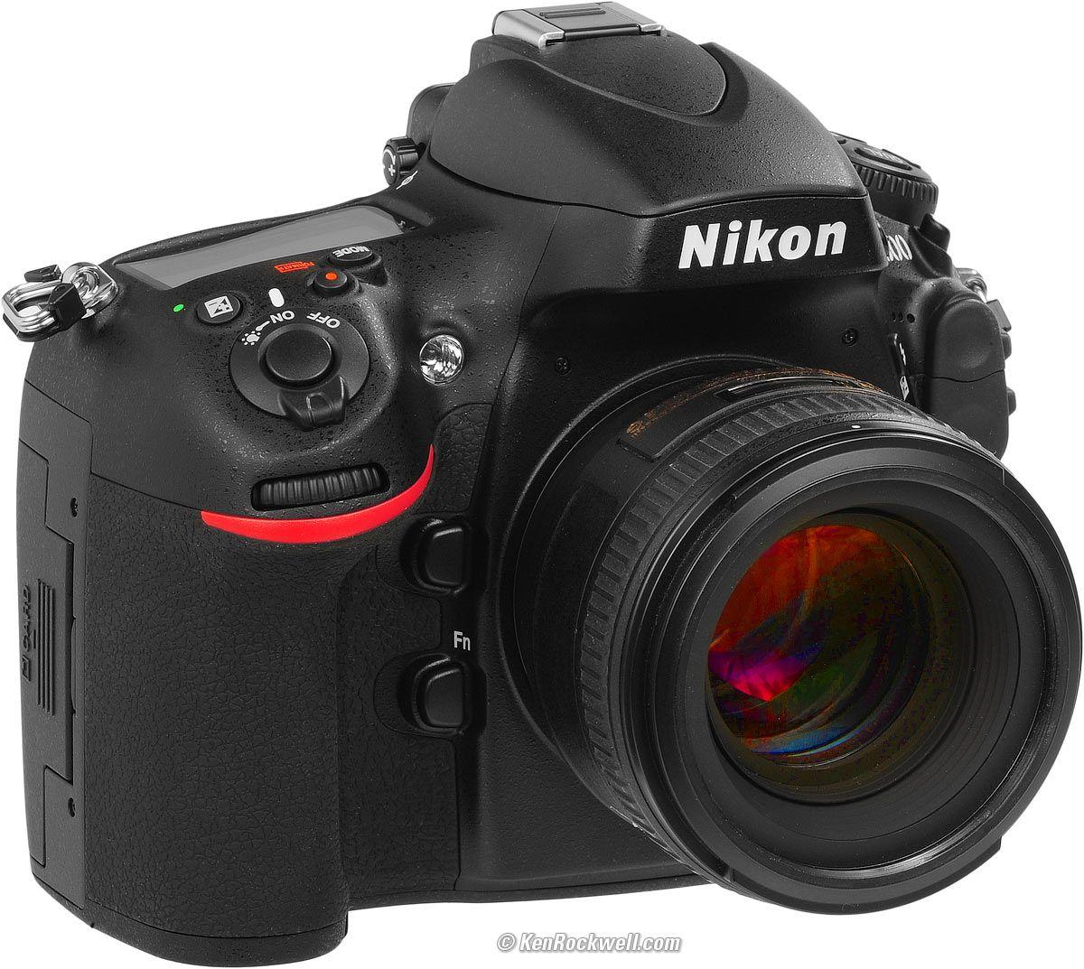 Nikon D800 And D800e User S Guide Nikon Nikon D600 Camera