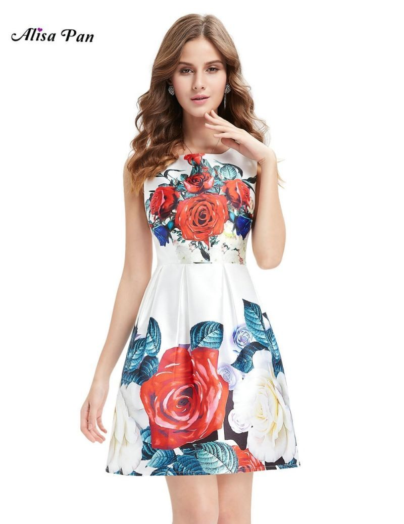 960e20aac1ee  clearance sale  flower printed women clothing dresses ap05410wh floral  round neck short casual dresses summer dress  women  o-neck  regular   mesh