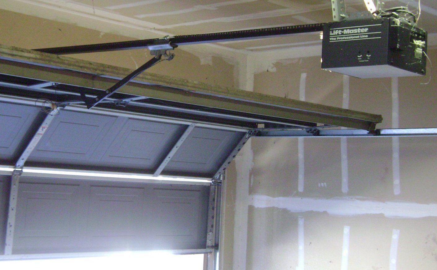 Do It Yourself Garage Door Noise Reduction Garage Door Maintenance Garage Doors Garage Door Installation
