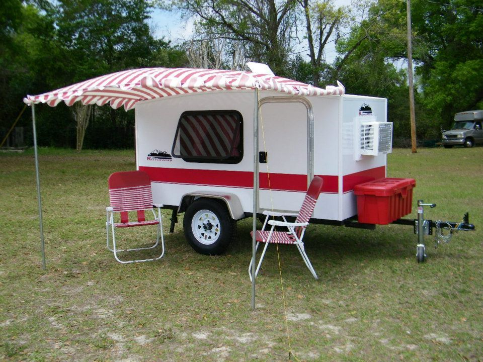 Runaway Campers , Based Out Of Marion County, Florida Are Not Your Typical Teardrop  Trailer
