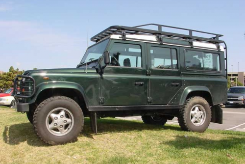 Hannibal Land Rover Defender Roof Rack Google Search Biler