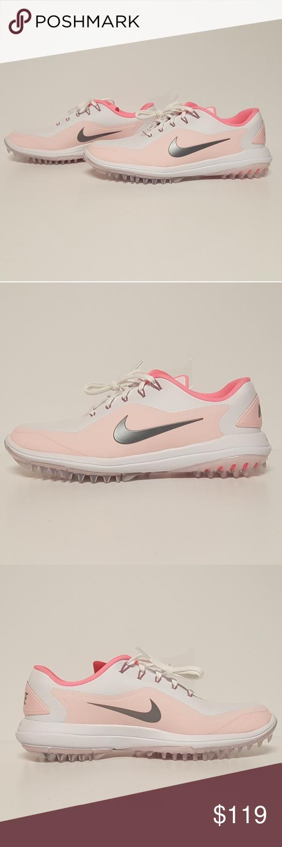 wholesale dealer 1e4f8 3e64b Nike Womens Lunar Control Vapor 2 Golf Shoes Pink Up for grabs are the Nike  Lunar