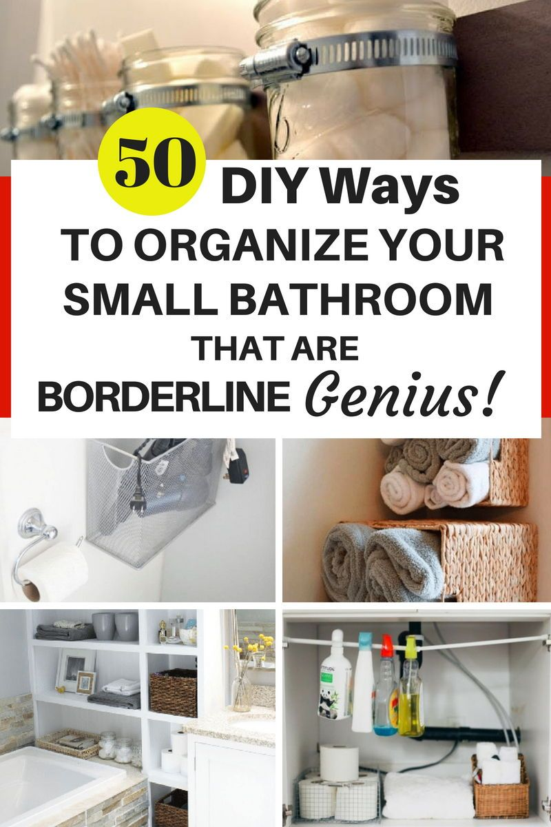 If Your Bathroom Ever Feels Cluttered, Try One Of These 40+ Nifty ...