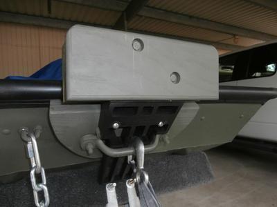 Jon Boat Trolling Motor Bracket For Bow Or Stern Made