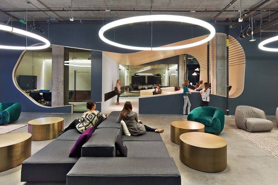 Dropboxs new office design in san francisco