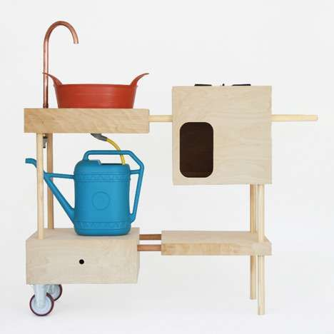 Haphazardly Modular Furniture - The 'Maroma' Storage Unit was Inspired by Magic Sticks (GALLERY)