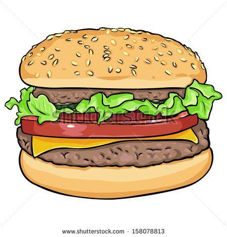 hamburger art - Google Search