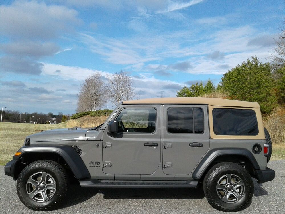 2020 Jeep Wrangler Black And Tan 4x4 2020 Black And Tan
