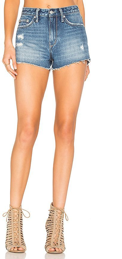 Jack High-Rise Short in White. - size 25 (also in 23,24,26,27,28,29,30) Lovers + Friends
